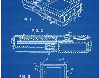 Nintendo blueprint | Etsy on