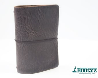 RG XL Traveler's notebook brown leather - midori like- fauxdori