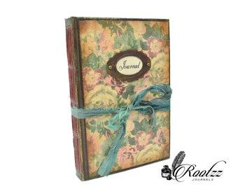 Junk Journal book flowers