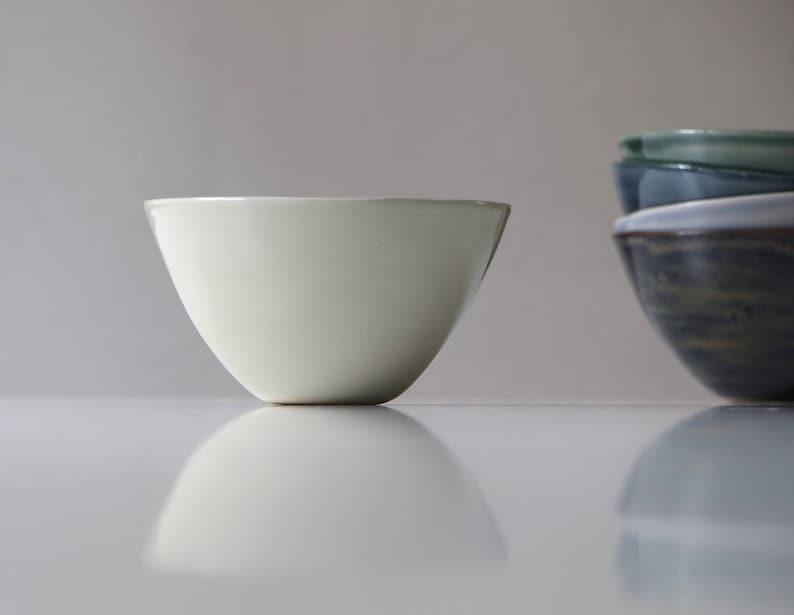 Stoneware Soup Bowl grey  Stoneware Dishes  Handmade Stoneware Pottery   Ceramic Salad Plate  Salad Plate Soup Bowl Grey