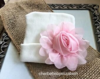 fed7256f231 Soft pink hat