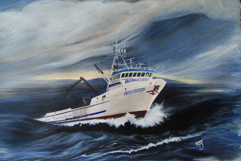 The Northwestern boat deadliest catch prints fishing boat image 0