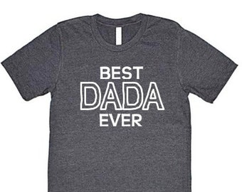 d0f349dd7f96 Best Dada Nana Ever Men s Crewneck Graphic Tee