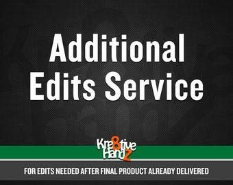 Additional Edits