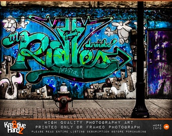 Cleveland Photography, Cleveland Graffiti photography, Cleveland Urban Photography, Cleveland Streets,Home & office decor, Printed or Framed