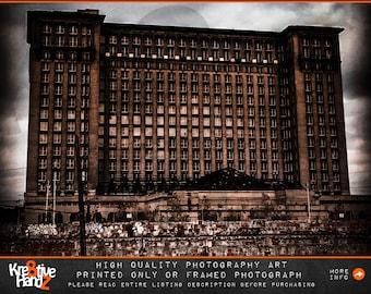 Detroit Central Station Photograph, Michigan Photography, Detroit urban photography, Detroit Architectural Photography, Michigan Photography