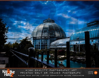 Detroit Photography, Belle Isle Conservatory photograph, Michigan photography, Outdoor Michigan Fine art photography, print only or printed