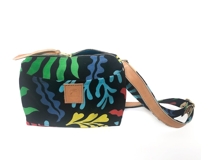 Mini Messenger Bag - Reef Print