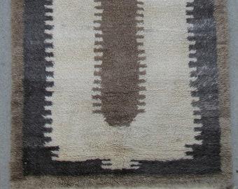 Turkish Tulu rug - Anatolian Tulu Vintage rug - 3'5 x 4'11 - Free shipping!