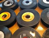 SALE Lot of 110 Vintage 45 rpm Rpm Records