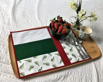 Cacti Print Placemats (Set 4)