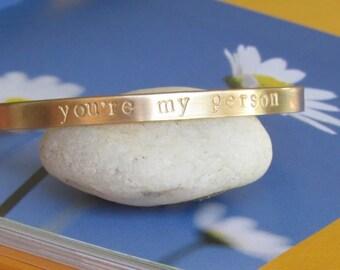 Friend Gift Best Birthday Bracelet Greys Anatomy Friendship Youre My Person