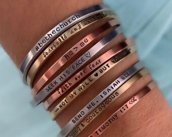 Coordinates Leather Bracelet Skinny Leather Bracelet Bible Verse Skinny Bracelet Hidden Message Cuff FREE SHIPPING-Personalized Bracelet