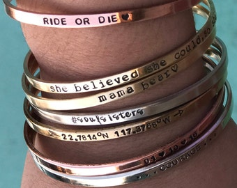 Create YOUR Own Bracelet Inspiration Bracelet Personalized Gift Sister Bracelet Sister In law gift Long Distance Sister Gift Inspiration