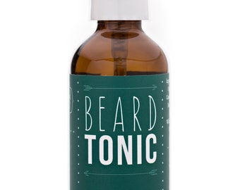 Beard Tonic, Beard Oil, Men's Grooming, Beard Conditioner, Organic, Pure Essential Oils, Men's Gifts, Gifts for Him