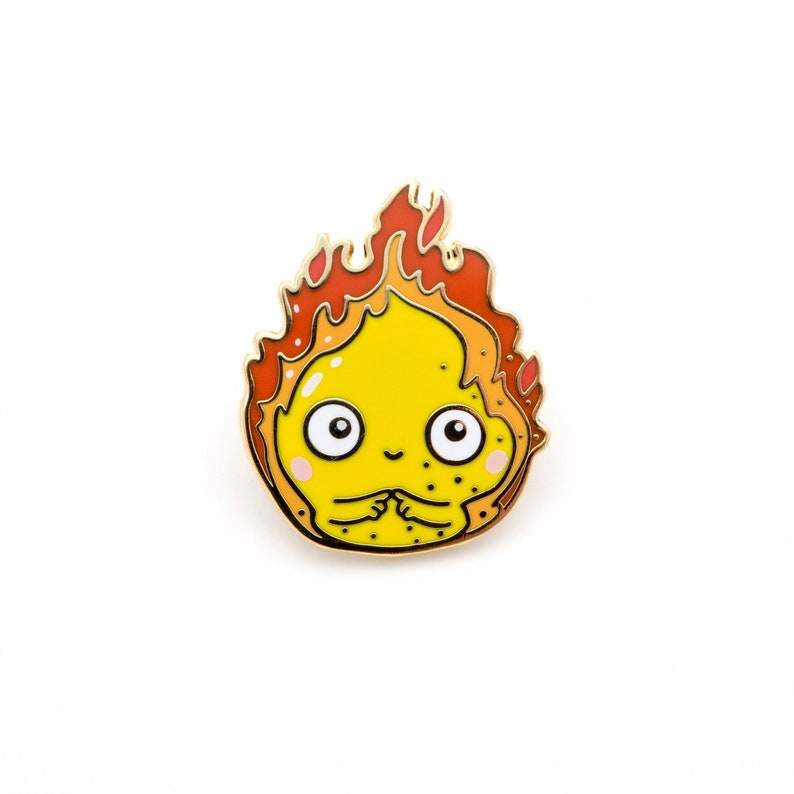 Calcifer Pin Howl´s Moving Castle Movie