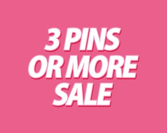 Pick 3 or more A-grade Enamel Pins - Collectable Enamel Pin Cloisonné Lapel Pin Badge Kawaii Pin Brooch