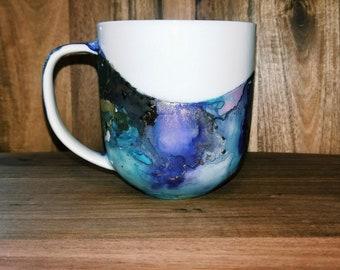 StarDust Mug // Hand painted