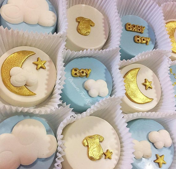1dz Baby Themed Covered Oreos Twinkle Twinkle Little Star Etsy