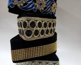 Classic Men hand made hatGroom\u2019s hatmen wedding hat AFRICAN men hat Igbo wedding hat Yoruba groom hat animal skin hat luxury men hat