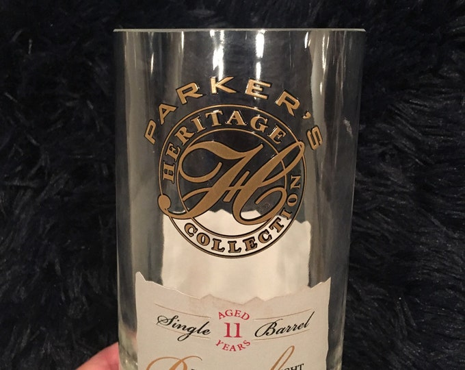 Parker's Heritage Collection 11 Year Kentucky Straight Bourbon Whiskey Glass - Made from empty 750ml Bottle