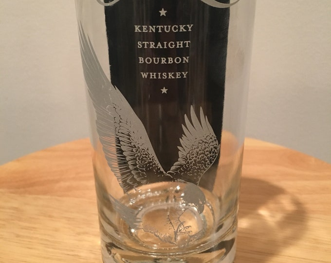 Eagle Rare Kentucky Straight Whiskey 750ml Bottle Tall Glass