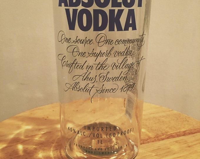 Absolut Vodka 1 Liter Bottle Glasses - 6 Pack