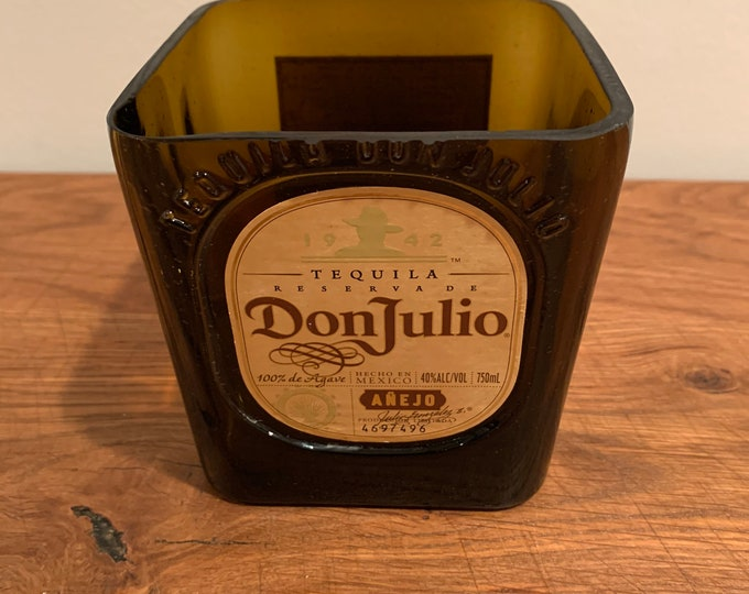 Don Julio Anejo Lime/ Candy Holder made from empty 750ml Bottle