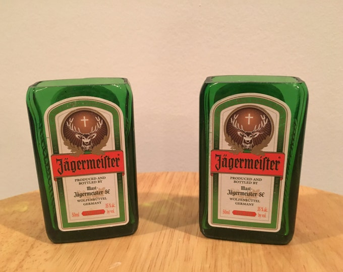 Jagermeister 50ml Bottle Shot Glasses Set