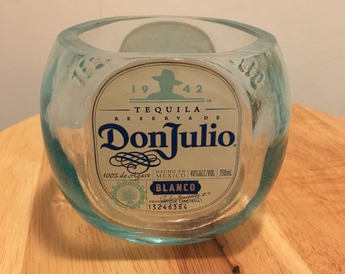 Don Julio Blanco Tequila 750ml Bottle Candy Dish / Lime Holder