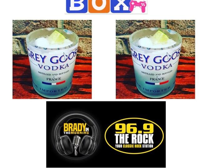 Mason's Toy Box - Grey Goose Rocks Glasses Fundraiser W/ Brady In The Morning - 96.9 The Rock