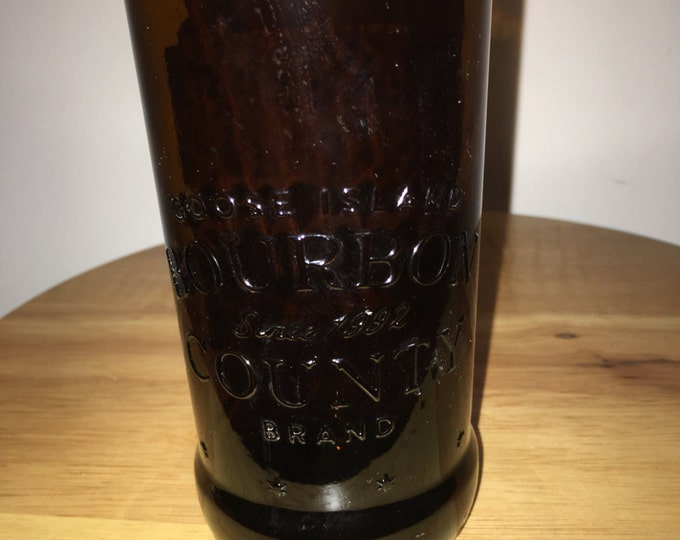Goose Island Bourbon County Brand Stout  Bottle Glass