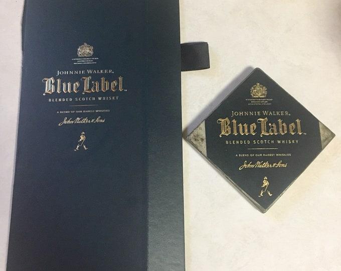 Johnnie Walker Blue Label Whiskey Box Top Coaster (1)