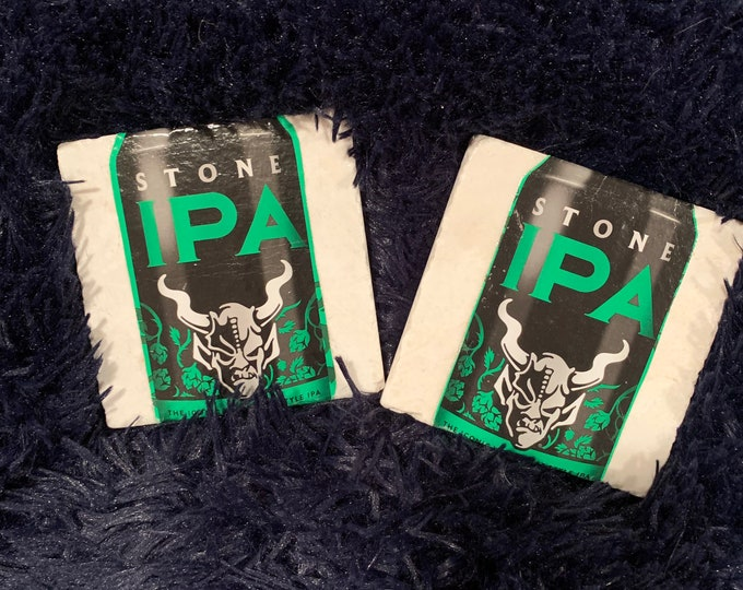 Stone Brewery Arrogant Bastard  Coasters (2) - Made from Packaging