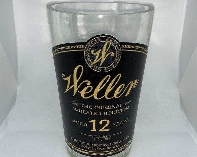Weller 12 Year Kentucky Straight Whiskey Bourbon Vase made from empty  Bottle
