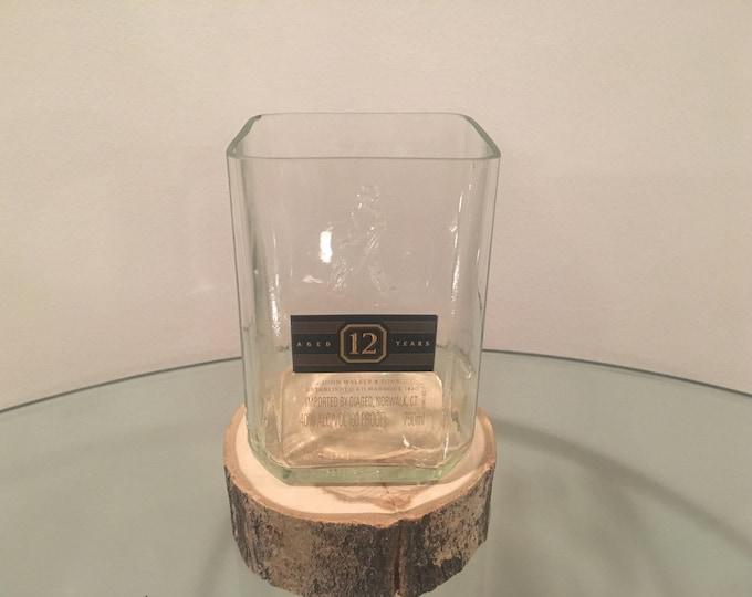 Johnnie Walker Whiskey Black Label 750ml Bottle Rocks Glass