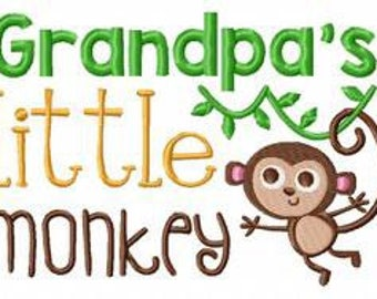 Grandpas little Monkey