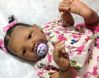 SOLD...SOLD...Reborn Baby Doll- African American RILEY by Aleina Peterson