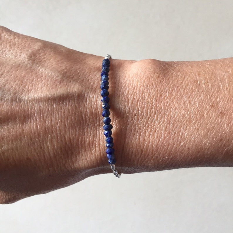 Details about  /Handmade Sterling Silver Stretchy Thai Hill Tribe Bracelet