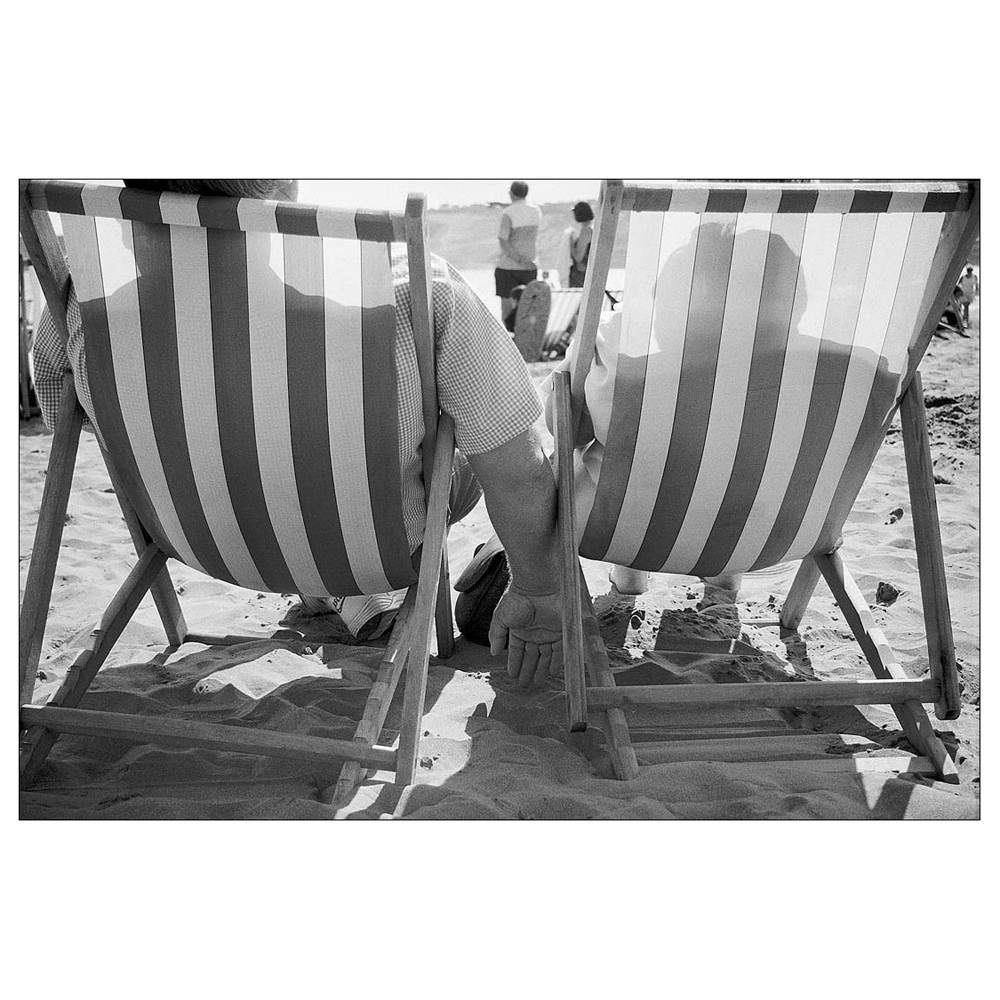 Black and white photo 6x4 photo seaside print beach quirky people scarborough retro street photography photo art silver gelatin