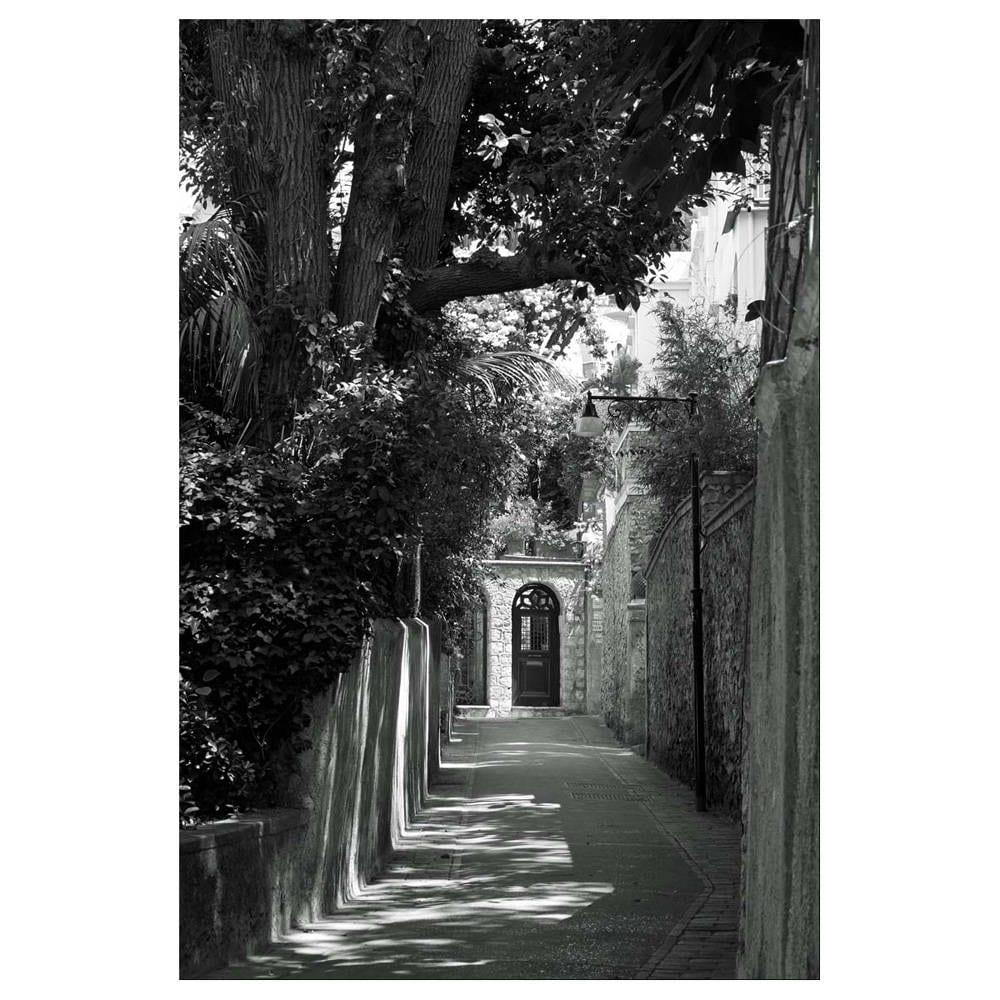 Italy print black and white photography silver gelatin print mediterranean travel art deco architecture photo art retro noir