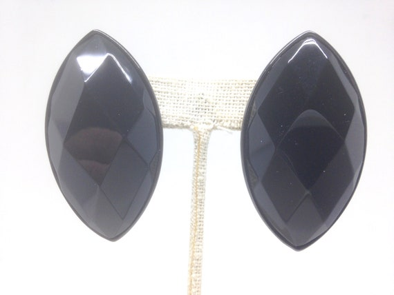 Joan Rivers* Collection Jet Black Stunning Earring