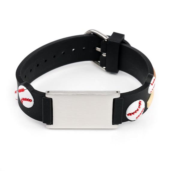 Fabulous Baseball-Kinder-ID-Armband Notfall Armband Kinder Kinder ID | Etsy &DI62