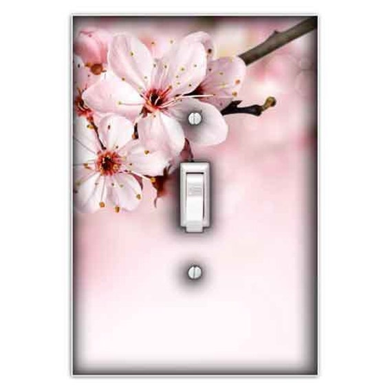 Cherry Blossom Decorative Single Toggle Light Switch Cover Etsy