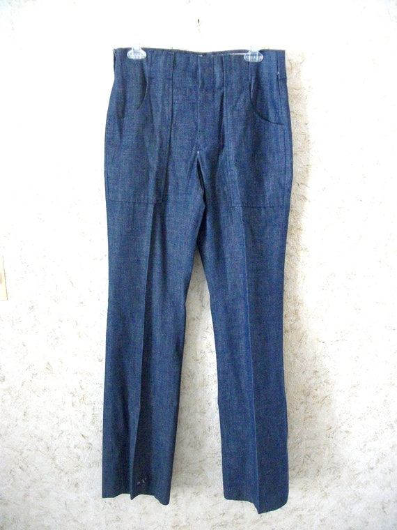 Vintage 60s Levis Big E Sta Prest Cotton Denim Jea