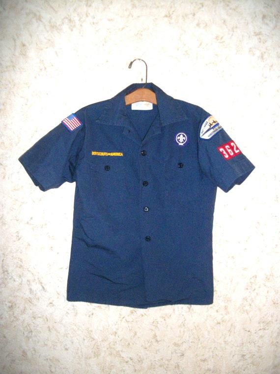 Boy Scouts Retro Juvenile Unisex Cotton Long Sleeve Round Neck Sweatshirt