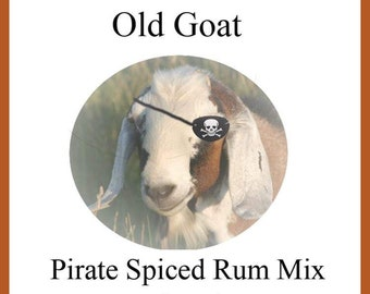 Old Goat Pirate Spiced Rum Mix