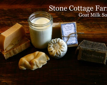 Goat Milk Soap - Special Blends 4 oz bars