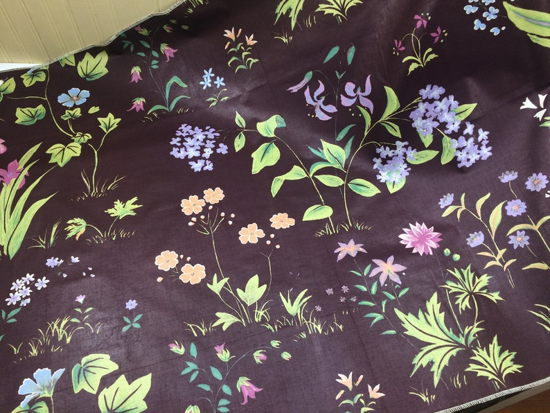 PERSIAN SPRING Floral Fabric Cotton Pillow Craft Chintz Table Cloth Scrap Book Cover Design Reference Material