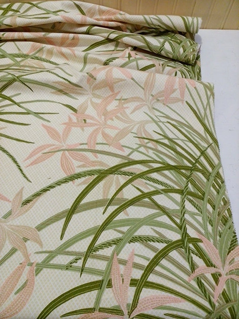 Puff Print Floral Patio Pillow Fabric Cotton Craft Cloth Cushion Design Reference Material